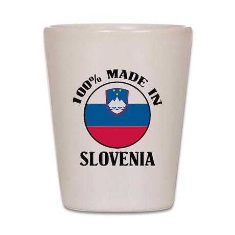 Made In Slovenia Shot Glass