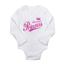 Slovenian Princess Long Sleeve Infant Bodysuit
