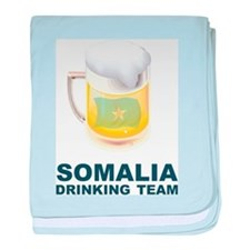 Somalia Drinking Team baby blanket