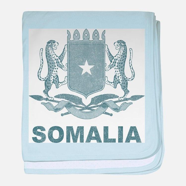 Vintage Somalia baby blanket