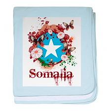 Butterfly Somalia baby blanket
