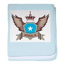 Somalia Emblem baby blanket