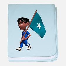 3D Somalia baby blanket