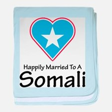 Happily Married Somali baby blanket
