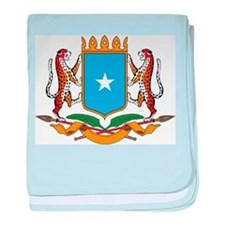 Somalia Coat Of Arms baby blanket