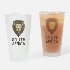 Vintage South Africa Pint Glass