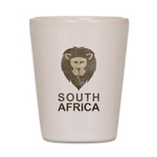 Vintage South Africa Shot Glass