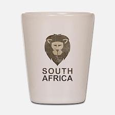 Vintage South Africa Shot Glass