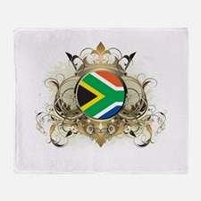 Stylish South Africa Throw Blanket