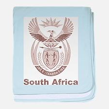 Vintage South Africa baby blanket