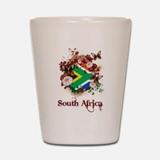 Butterfly South Africa Shot Glass