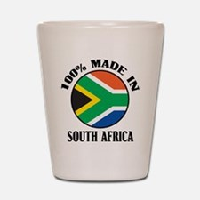 Made In South Africa Shot Glass