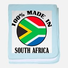Made In South Africa baby blanket