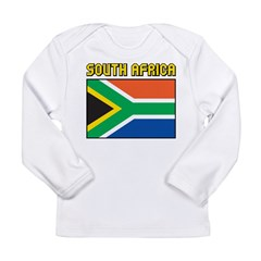 South Africa Flag Long Sleeve Infant T-Shirt