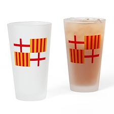 Barcelona Flag Pint Glass