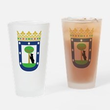 Madrid Coat Of Arms Pint Glass