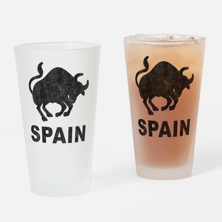Vintage Spain Pint Glass