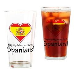 Happily Married Spaniard Pint Glass