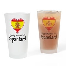 Happily Married Spaniard Pint Glass