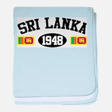 Sri Lanka 1948 baby blanket