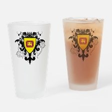 Stylish Sri Lanka Pint Glass