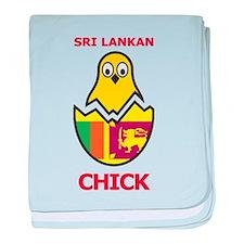 Sri Lankan Chick baby blanket