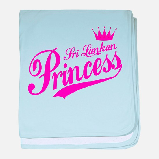 Sri Lankan Princess baby blanket