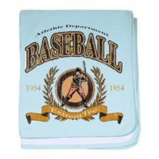 Baseball Retro baby blanket