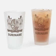 Vintage Suriname Pint Glass
