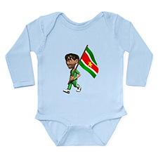 3D Suriname Onesie Romper Suit