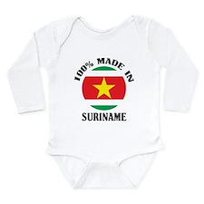 Made In Suriname Onesie Romper Suit
