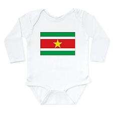 Suriname Flag Onesie Romper Suit