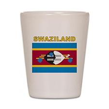 Swaziland Shot Glass