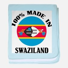 Made In Swaziland baby blanket