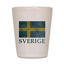 Vintage Sweden Shot Glass