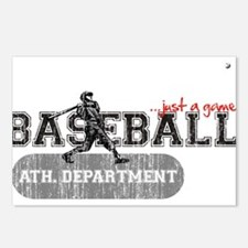 Baseball...just a game? Postcards (Package of 8)