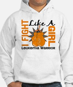 Licensed Fight Like a Girl 8.2 L Hoodie