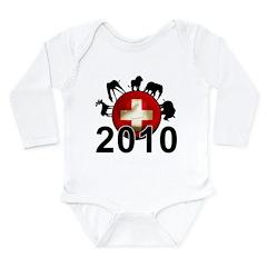 Switzerland World Cup 2010 Long Sleeve Infant Body