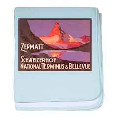 Zermatt baby blanket