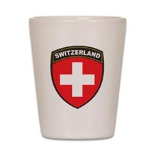 Switzerland Shot Glass