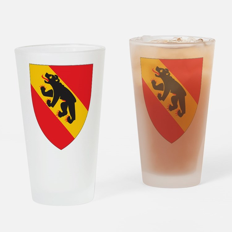 Bern Coat Of Arms Pint Glass