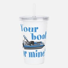 Your Boat or Mine? Acrylic Double-wall Tumbler