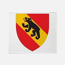 Bern Coat Of Arms Throw Blanket