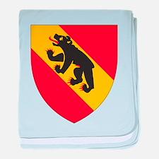 Bern Coat Of Arms baby blanket