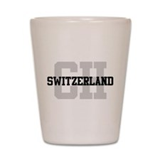 CH Switzerland Shot Glass