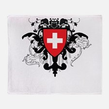 Stylish Switzerland Throw Blanket