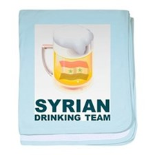 Syrian Drinking Team baby blanket