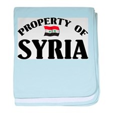 Property Of Syria baby blanket