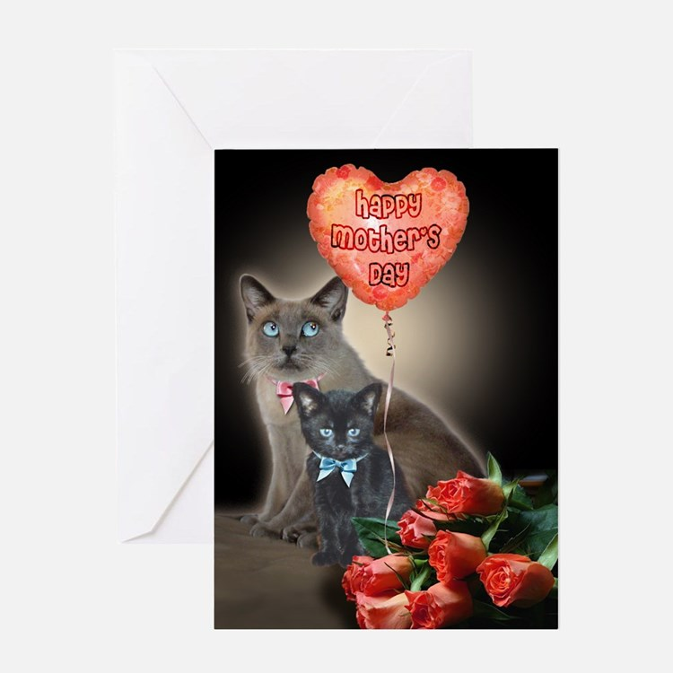 Valentine's Cat Greeting Cards