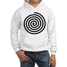 Spiral Petroglyph Icon Hoodie